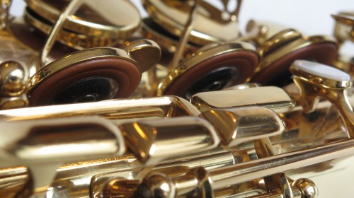 Saxophone alto Selmer Super Action 80 verni gravé (1)