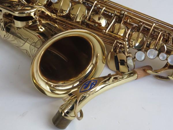 Saxophone alto Selmer Super Action 80 verni gravé (2)
