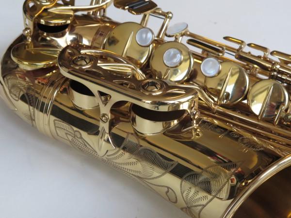 Saxophone alto Selmer Super Action 80 verni gravé (3)