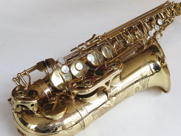 Saxophone alto Selmer Super Action 80 verni gravé (5)