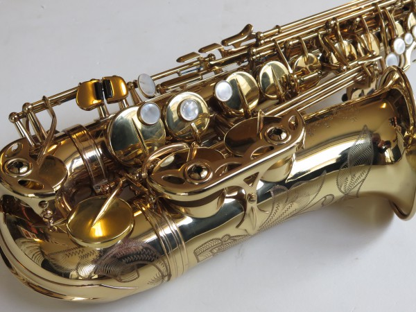 Saxophone alto Selmer Super Action 80 verni gravé (8)