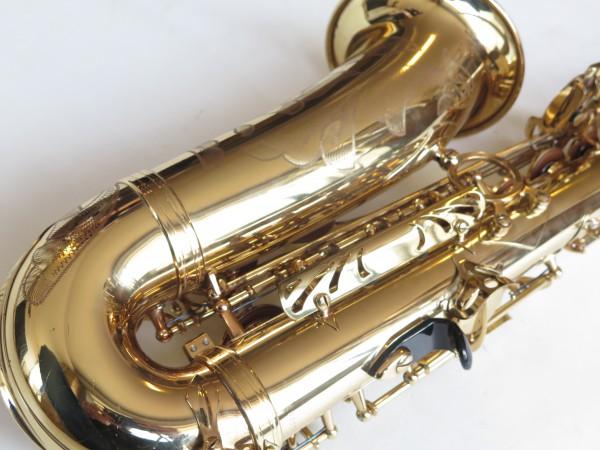 Saxophone alto Selmer Super Action 80 verni gravé (9)