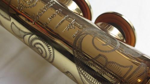 Saxophone soprano Selmer Mark 6 verni gravé (1)