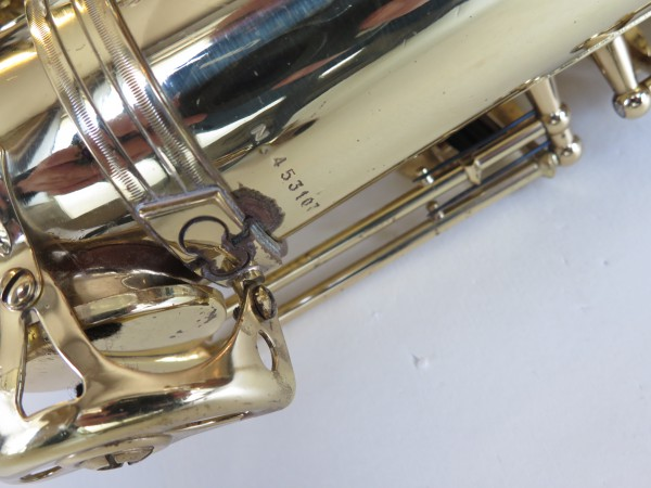 Saxophone ténor Selmer Super Action 80 Série 2 verni gravé (4)