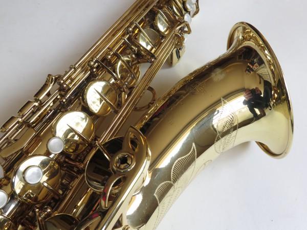 Saxophone ténor Selmer Super Action 80 Série 2 verni gravé (6)