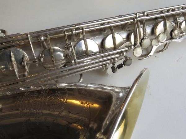 Saxophone ténor Selmer super balanced action argenté sablé (10)