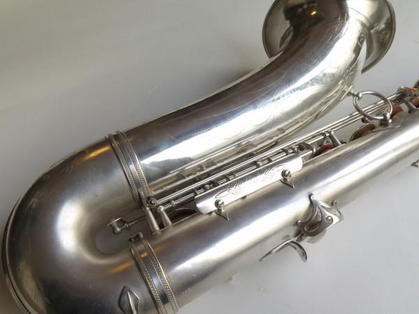Saxophone ténor Selmer super balanced action argenté sablé (11)