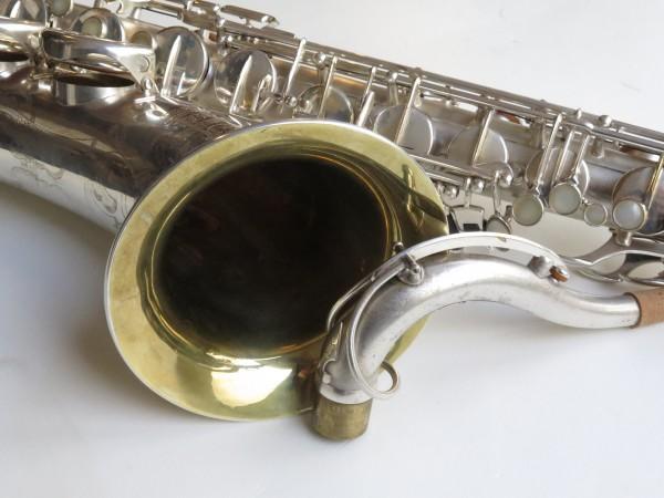 Saxophone ténor Selmer super balanced action argenté sablé (13)