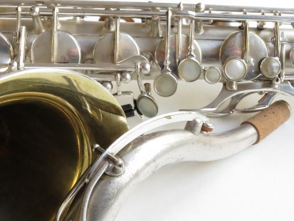 Saxophone ténor Selmer super balanced action argenté sablé (2)