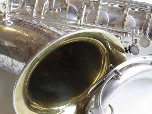 Saxophone ténor Selmer super balanced action argenté sablé (3)