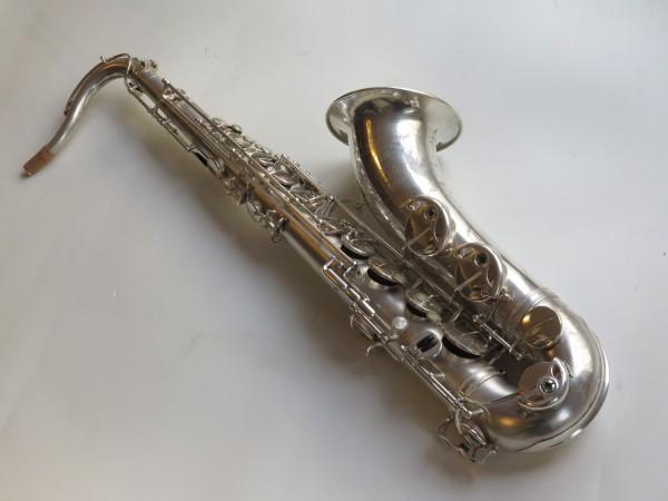 Saxophone ténor Selmer super balanced action argenté sablé (4)