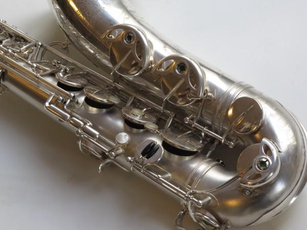 Saxophone ténor Selmer super balanced action argenté sablé (5)