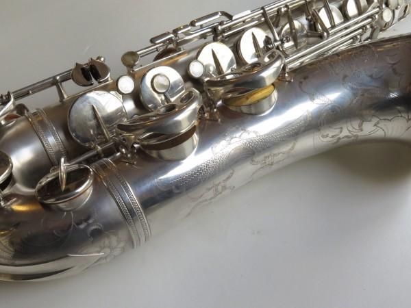 Saxophone ténor Selmer super balanced action argenté sablé (6)