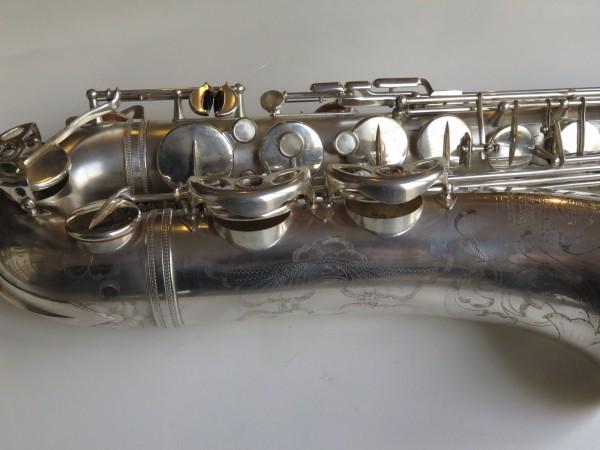Saxophone ténor Selmer super balanced action argenté sablé (9)
