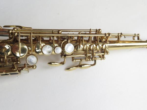 Saxophone soprano Selmer mark 6 verni (1)