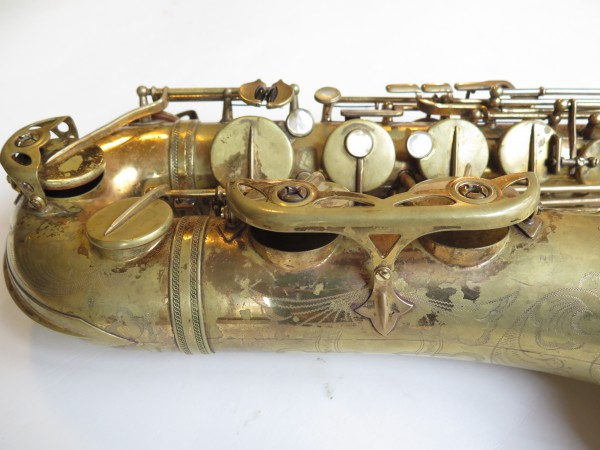 Saxophone ténor Selmer mark 6 verni gravé (15)