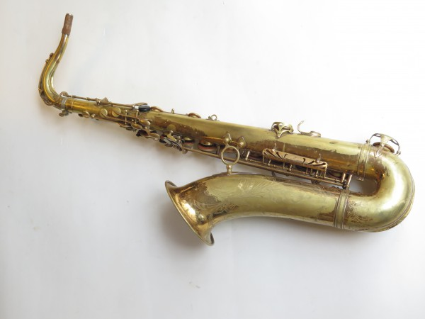 Saxophone ténor Selmer mark 6 verni gravé (17)
