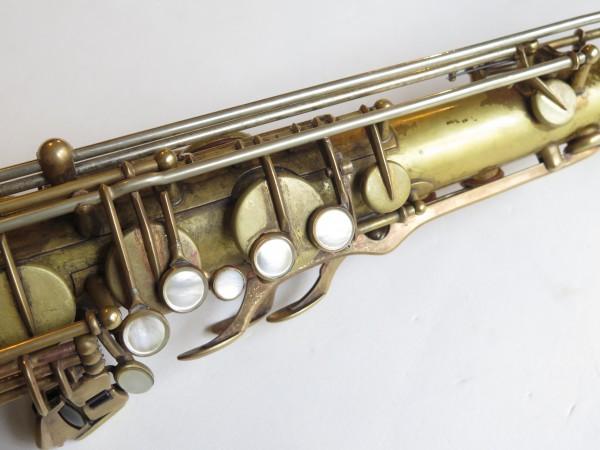 Saxophone ténor Selmer mark 6 verni gravé (5)