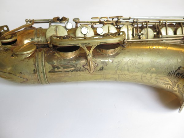 Saxophone ténor Selmer mark 6 verni gravé (9)