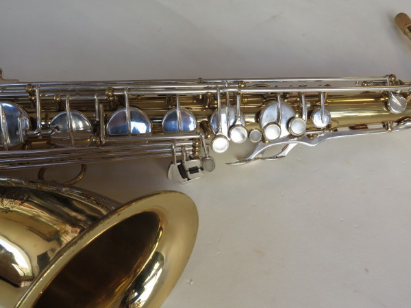 Saxophone ténor selmer mark 6 verni clétage argenté (4)