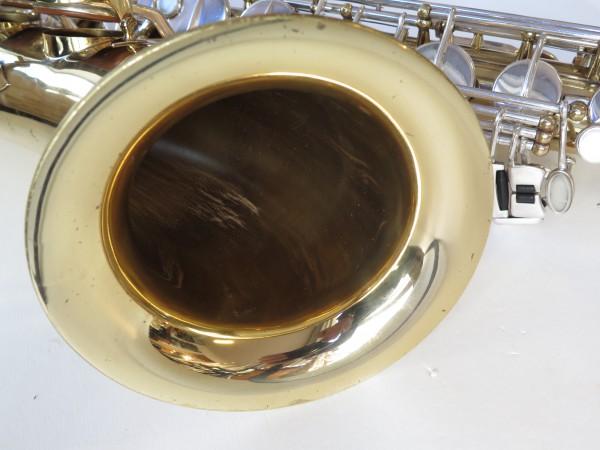 Saxophone ténor selmer mark 6 verni clétage argenté (5)