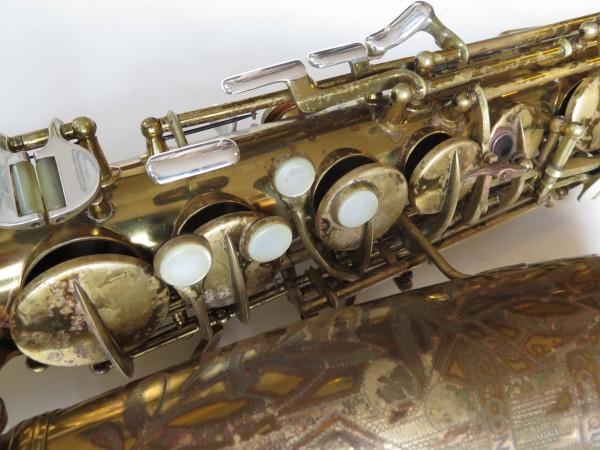 Saxophone alto Conn 26 M Connqueror verni (11)