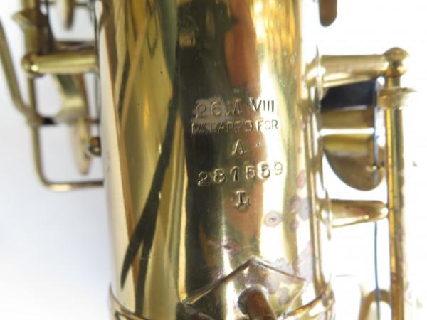 Saxophone alto Conn 26 M Connqueror verni (4)