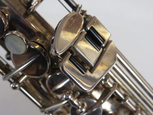 Saxophone soprano Beaugnier argenté (1)