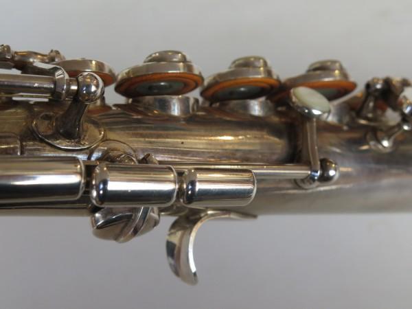 Saxophone soprano Beaugnier argenté (10)