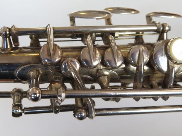 Saxophone soprano Beaugnier argenté (2)