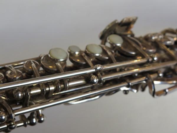 Saxophone soprano Beaugnier argenté (4)