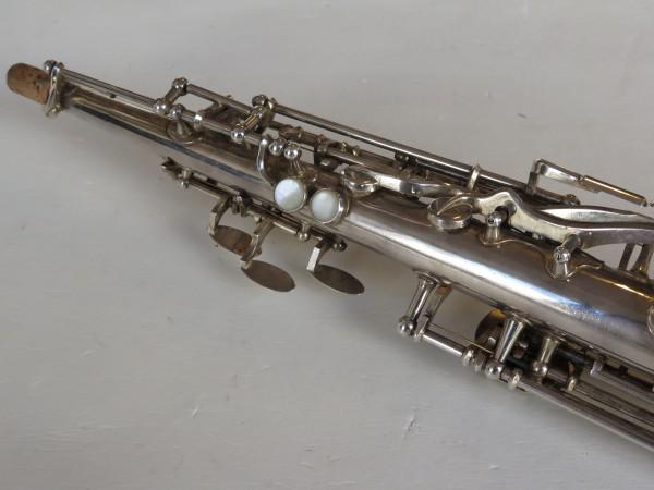 Saxophone soprano Beaugnier argenté (8)