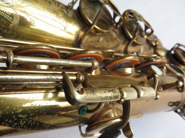 Saxophone ténor Selmer Balanced action verni gravé (15)