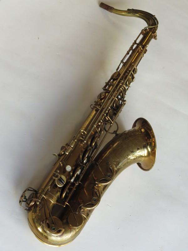 Saxophone ténor Selmer Balanced action verni gravé (17)