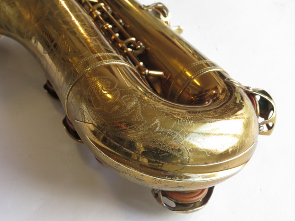 Saxophone ténor Selmer Balanced action verni gravé (19)