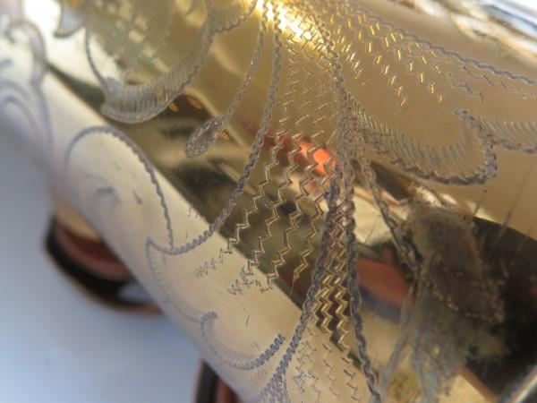 Saxophone ténor Selmer Balanced action verni gravé (2)