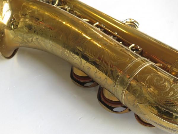 Saxophone ténor Selmer Balanced action verni gravé (20)