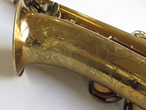Saxophone ténor Selmer Balanced action verni gravé (21)