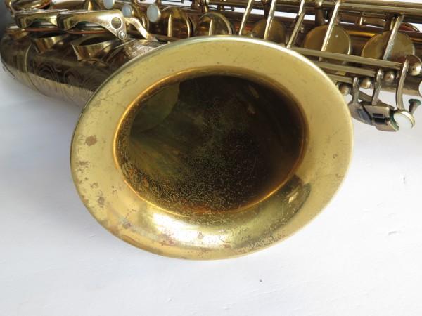 Saxophone ténor Selmer Balanced action verni gravé (6)
