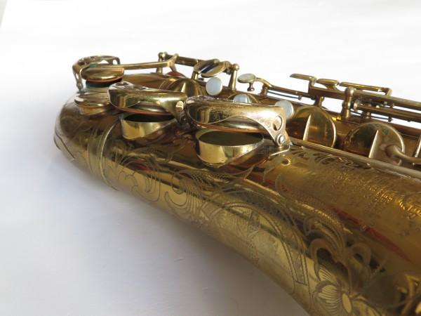 Saxophone ténor Selmer Balanced action verni gravé (7)