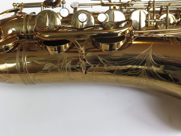 Saxophone ténor Selmer Mark 6 verni gravé (10)