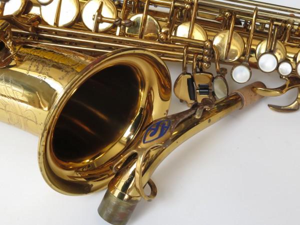 Saxophone alto Selmer Mark 6 verni gravé (1)