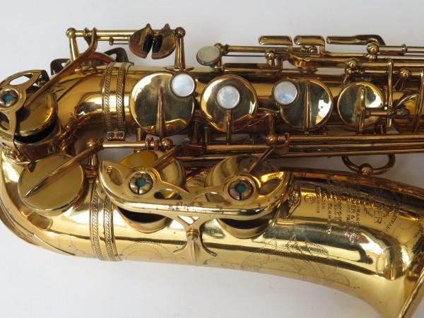 Saxophone alto Selmer Mark 6 verni gravé (11)