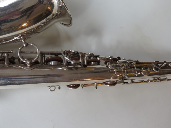 Saxophone ténor Selmer Super Balanced Action argenté (10)