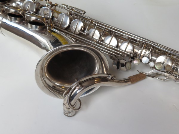 Saxophone ténor Selmer Super Balanced Action argenté (11)