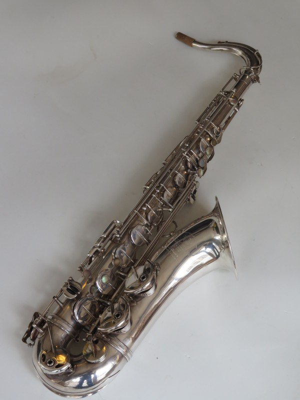 Saxophone ténor Selmer Super Balanced Action argenté (4)