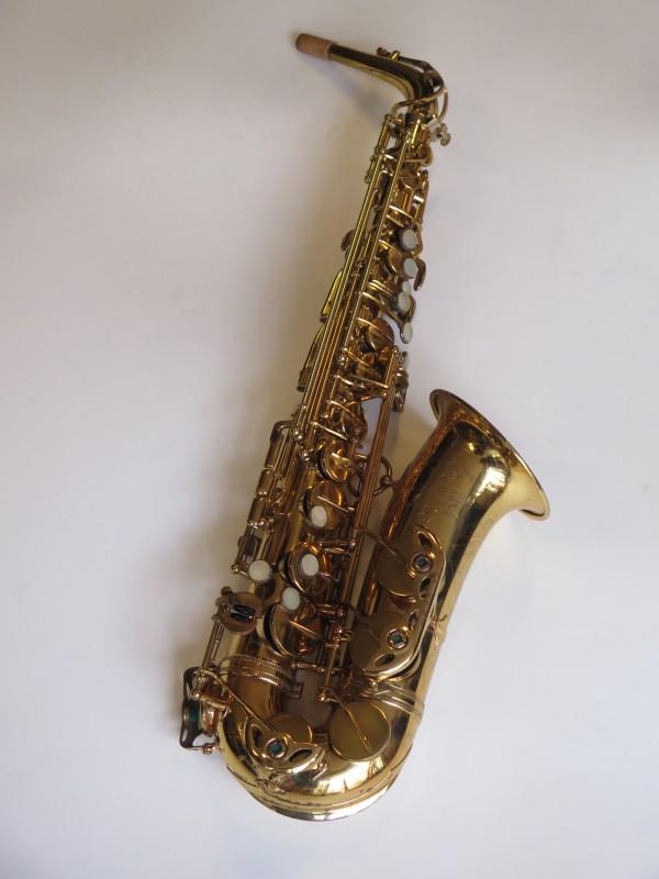 Saxophone alto Selmer Mark 6 verni gravé (15)