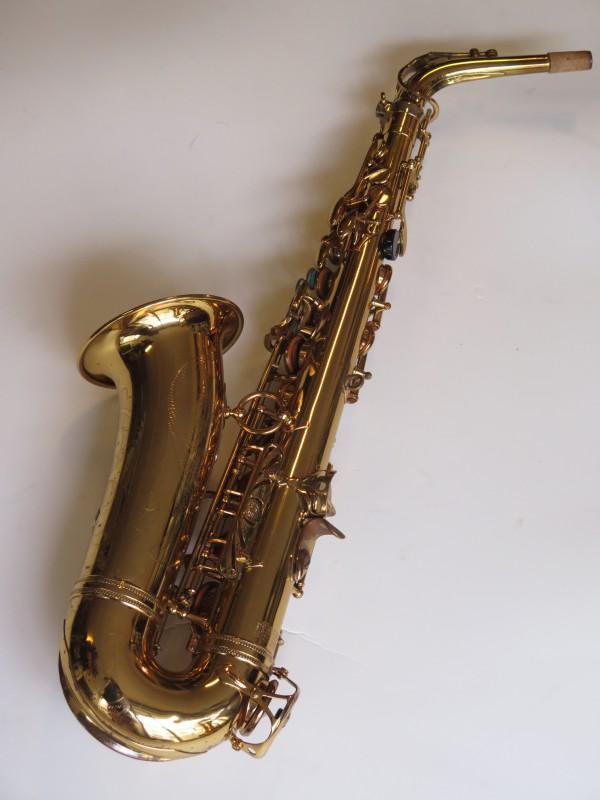 Saxophone alto Selmer Mark 6 verni gravé (16)