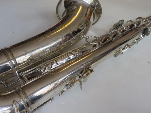 Saxophone ténor Selmer Mark VI argenté gravé (11)