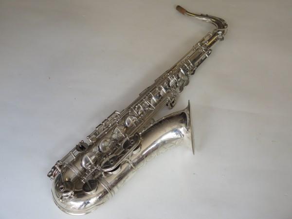 Saxophone ténor Selmer Mark VI argenté gravé (12)